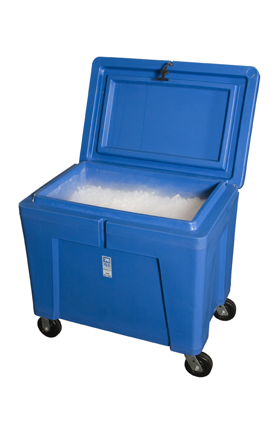 Transporting Dry Ice, Durable Ice Box, PB11HLC | Seafood Packaging